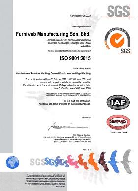 Quality Assurance | Furniweb Group